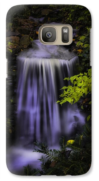 Galaxy Case featuring the photograph Garden Falls by Lynne Jenkins