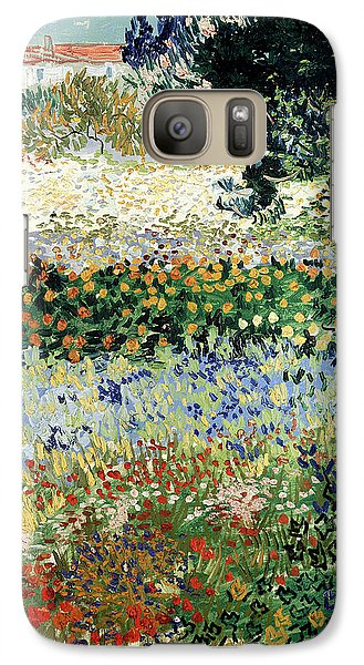 Garden Galaxy S7 Case - Garden In Bloom by Vincent Van Gogh
