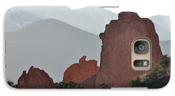 Galaxy Case featuring the photograph Garden Of The Gods by Cheryl McClure