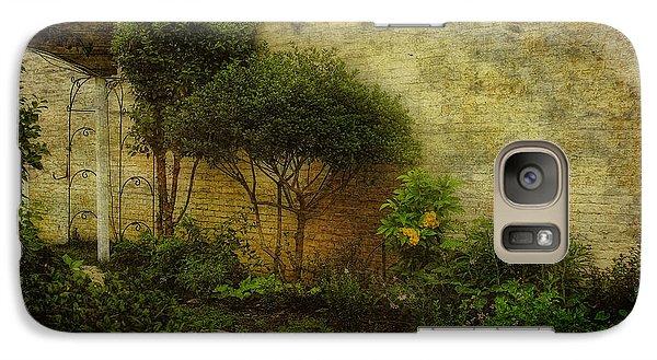 Galaxy Case featuring the photograph Garden Walk by Joan Bertucci