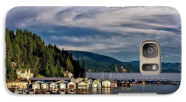 Galaxy Case featuring the photograph Garfield Bay by Albert Seger