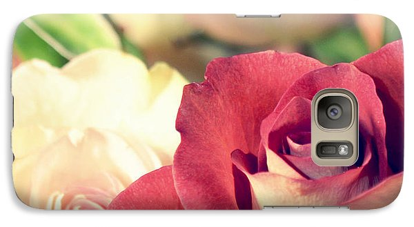Galaxy Case featuring the photograph Gather Beauty by Robin Dickinson