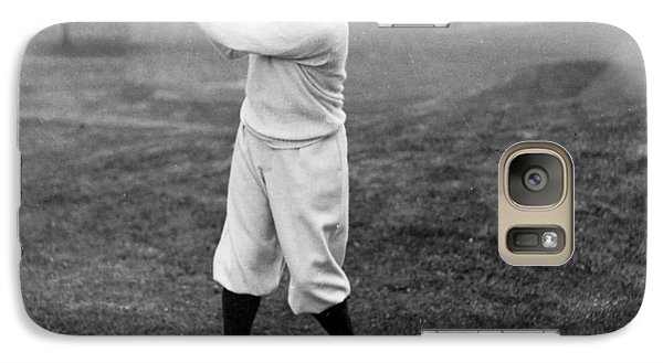 Galaxy Case featuring the photograph Gene Sarazen - Professional Golfer by International  Images