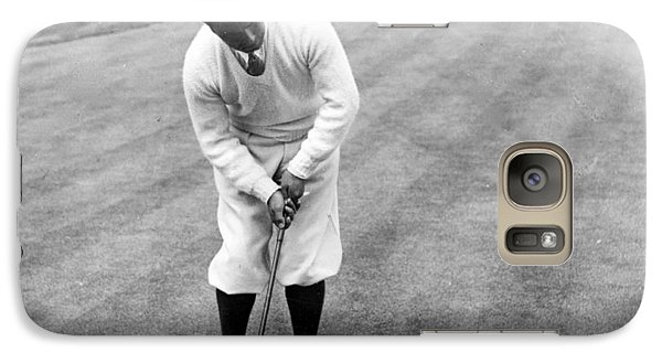 Galaxy Case featuring the photograph Gene Sarazen Playing Golf by International  Images