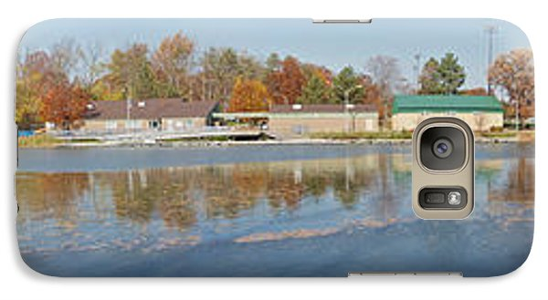 Galaxy Case featuring the photograph Genesee River Panorama by William Norton