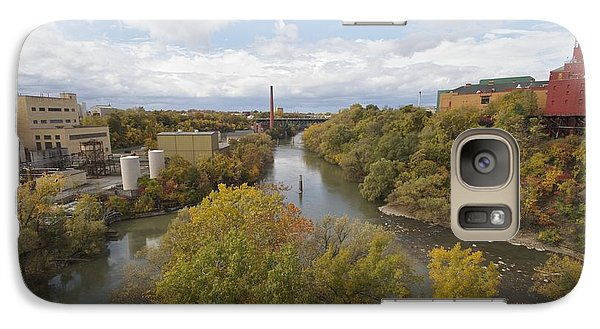 Galaxy Case featuring the photograph Genesee River by William Norton