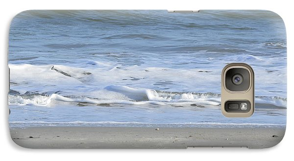 Galaxy Case featuring the photograph Gentle Tides by Margaret Palmer