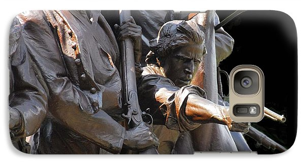 Galaxy Case featuring the photograph Gettysburg Monument by Cindy Manero