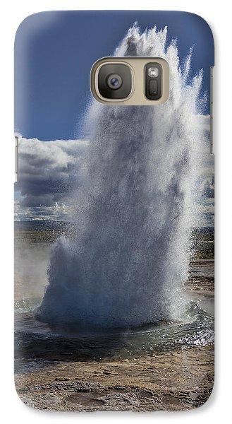 Galaxy Case featuring the photograph Geysir 3 by David Gleeson