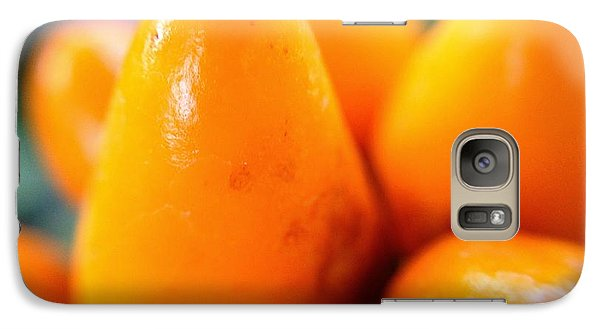 Galaxy Case featuring the photograph Ghost In The Pepper by Chriss Pagani