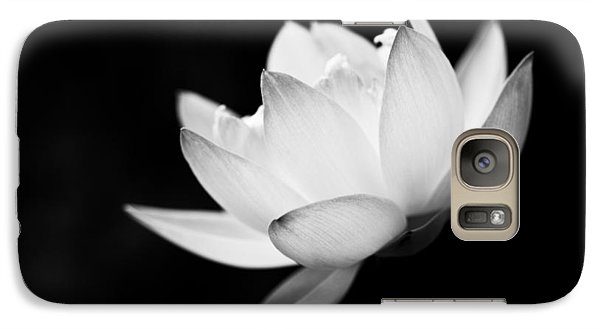 Galaxy Case featuring the photograph Ghost Lotus II by Priya Ghose