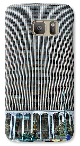 Galaxy Case featuring the photograph Giant Bank Of M And T by Michael Frank Jr
