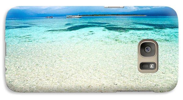 Galaxy Case featuring the photograph Gili Meno - Indonesia. by Luciano Mortula