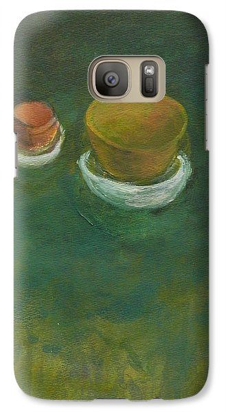 Galaxy Case featuring the painting Ginger Pot by Kathleen Grace