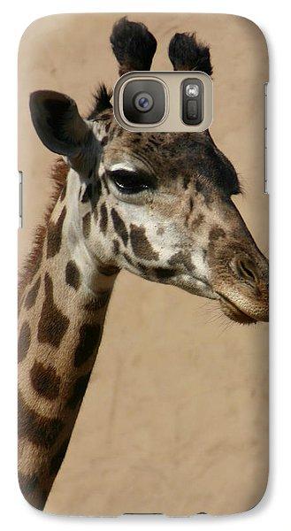Galaxy Case featuring the photograph Giraffe by Kelly Hazel