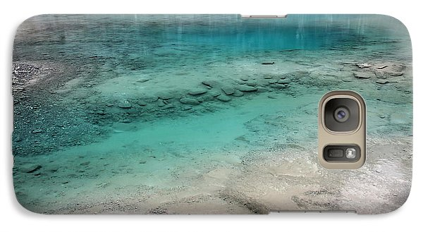 Galaxy Case featuring the photograph Glacial Pool by Laurel Talabere