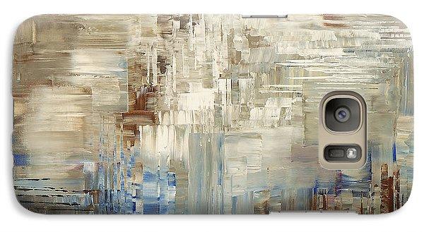 Galaxy Case featuring the painting Glaciology by Tatiana Iliina