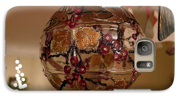 Galaxy Case featuring the photograph Glass Bauble by Richard Reeve