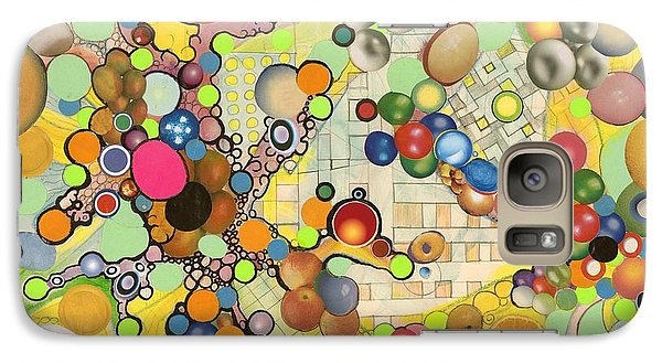 Galaxy Case featuring the mixed media Globious Maximous by Douglas Fromm