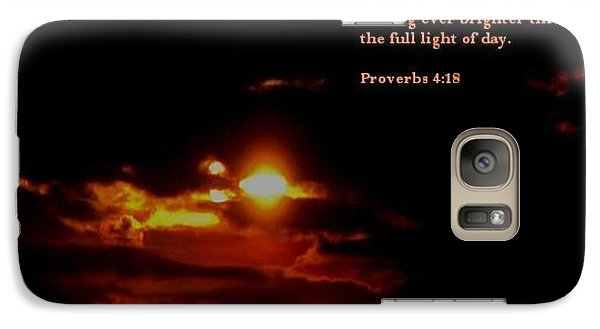 Galaxy Case featuring the photograph Glorious 2 by Maria Urso