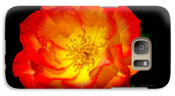 Galaxy Case featuring the photograph Glowing Center by Joan Bertucci