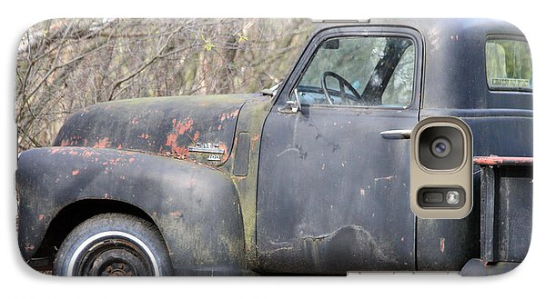 Galaxy Case featuring the photograph Gmc Rusting At Rest by Mark J Seefeldt