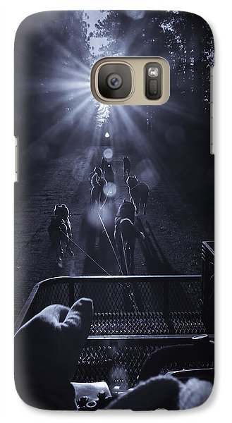 Galaxy Case featuring the photograph Go Dogs Go by Sherri Meyer