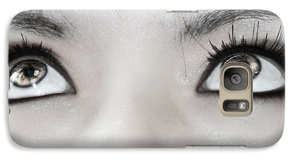 Galaxy Case featuring the photograph Goddess Eyes by Ester  Rogers