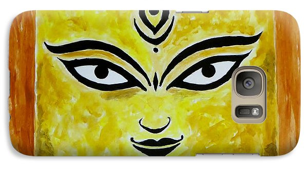 Galaxy Case featuring the painting Goddess Kali by Sonali Gangane