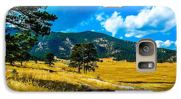 Galaxy Case featuring the photograph God's Country by Shannon Harrington