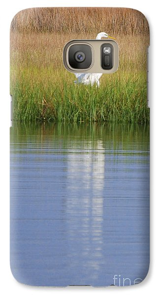 Galaxy Case featuring the photograph Going Going . . . .  by Linda Mesibov