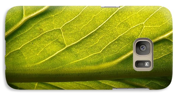 Galaxy Case featuring the photograph Going Green by Gerald Strine