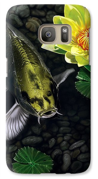 Galaxy Case featuring the painting Gold Rush by Dan Menta