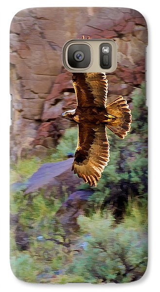 Galaxy Case featuring the photograph Golden Flight  by Britt Runyon
