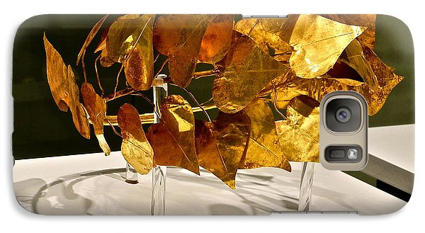 Galaxy Case featuring the photograph Golden Roman Crown by Kirsten Giving