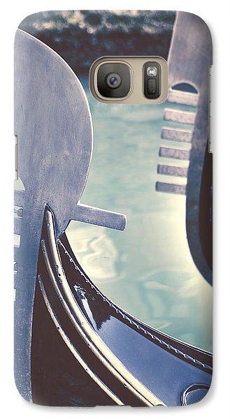 gondolas - Venice Galaxy S7 Case by Joana Kruse