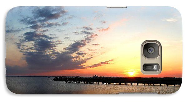 Galaxy Case featuring the photograph Goodnight Sound Vi by Linda Mesibov