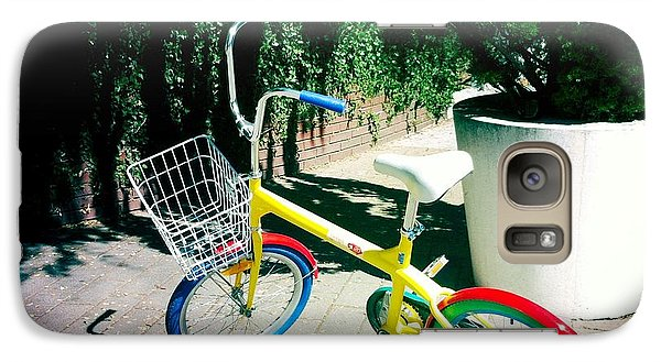 Galaxy Case featuring the photograph Google Mini Bike by Nina Prommer