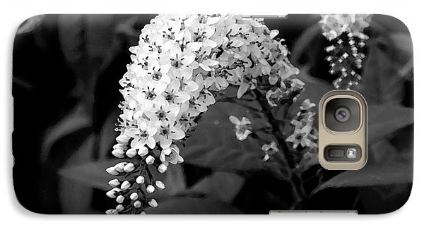Galaxy Case featuring the photograph Gooseneck Loosestrife by Michael Friedman