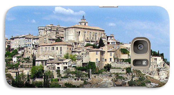 Galaxy Case featuring the photograph Gordes In Provence by Carla Parris