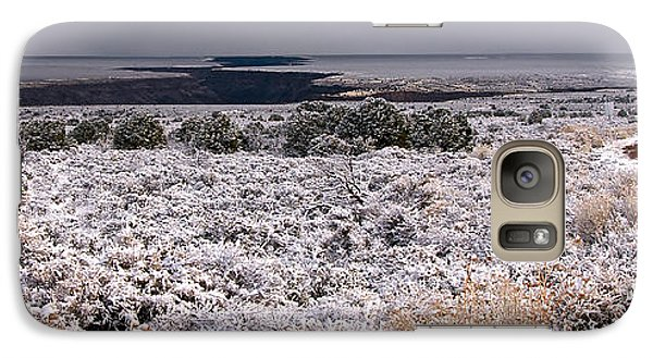 Galaxy Case featuring the photograph Gorge Snow by Britt Runyon