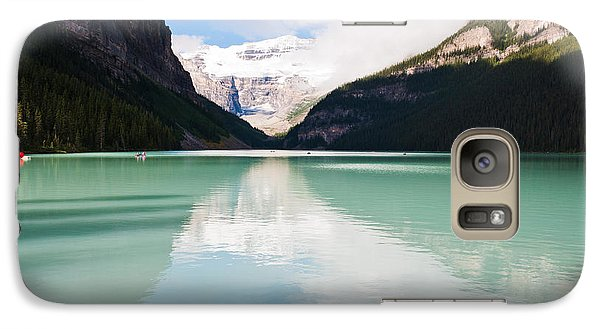 Galaxy Case featuring the photograph Gorgeous Lake Louise by Cheryl Baxter