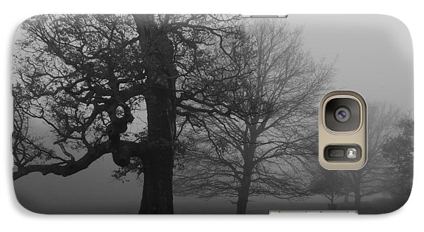 Galaxy Case featuring the photograph Gradual Trees by Maj Seda