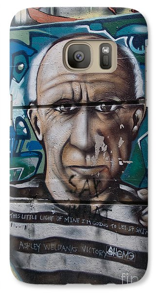 Galaxy Case featuring the digital art Graffii Alley by Carol Ailles