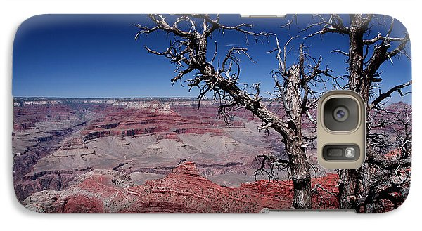 Galaxy Case featuring the photograph Grand Canyon Number One by Lon Casler Bixby