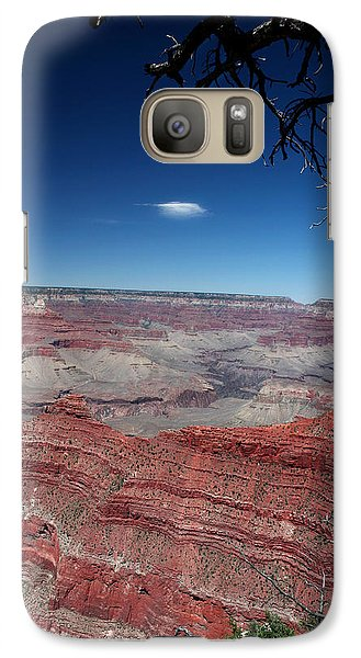 Galaxy Case featuring the photograph Grand Canyon Number Three by Lon Casler Bixby