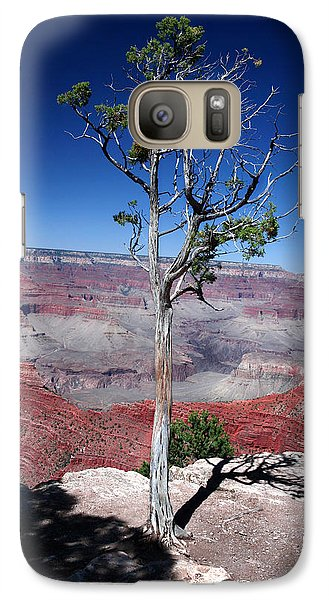 Galaxy Case featuring the photograph Grand Canyon Number Two by Lon Casler Bixby
