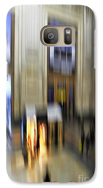 Galaxy Case featuring the photograph Grand Central Station Italian Style by Andy Prendy