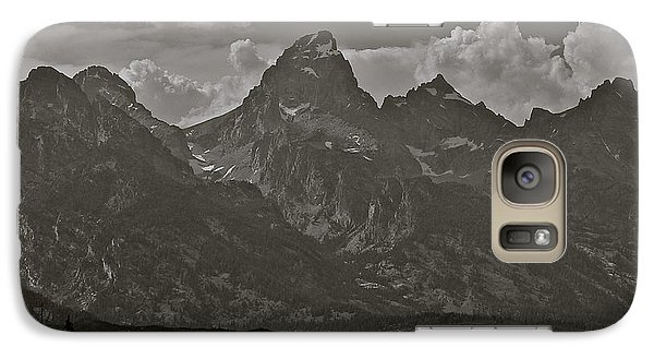 Galaxy Case featuring the photograph Grand Tetons by Eric Tressler