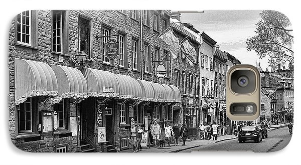 Galaxy Case featuring the photograph Grande Allee by Eunice Gibb